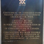 Weston Centennial Gardens
