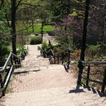 Stairs to Cruickshank Park