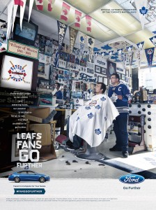 Peter's Barbershop Ford Ad