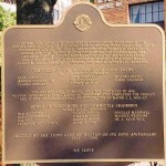 Weston Lions' Plaque