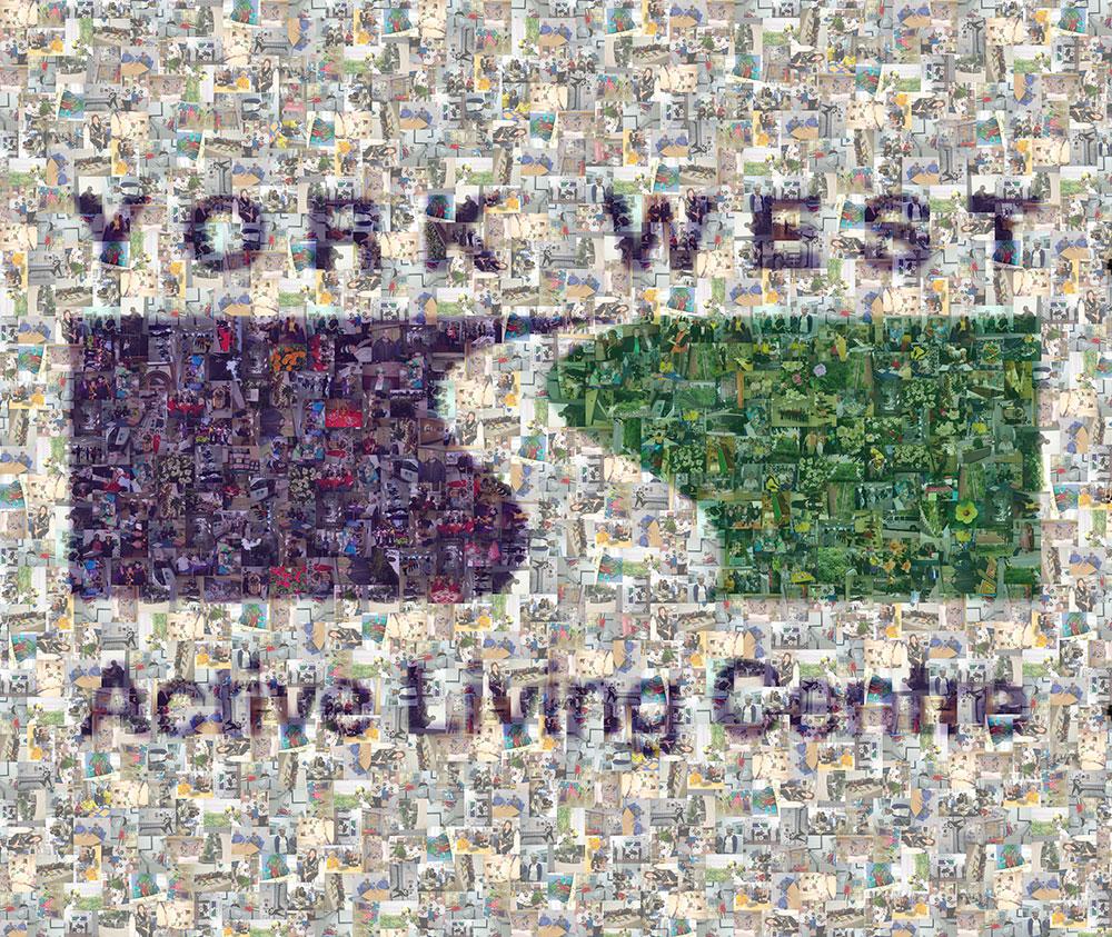 York Weston Active Living Centre photo mosaic