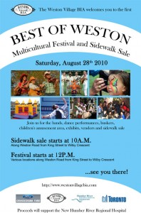 Best of Weston Multicultural Festival and Sidewalk Sale