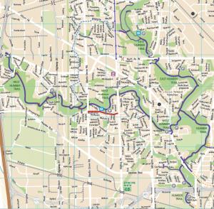 northern bike trails