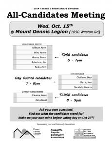 Ward 11 Election Debate