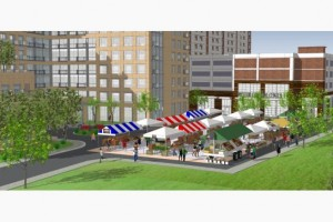 Rockport Group Illustration of proposed John St. redevelopment